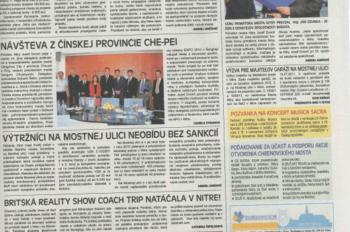 Preis des Bürgermeisters der Stadt Nitra für die Gesellschaft InsData